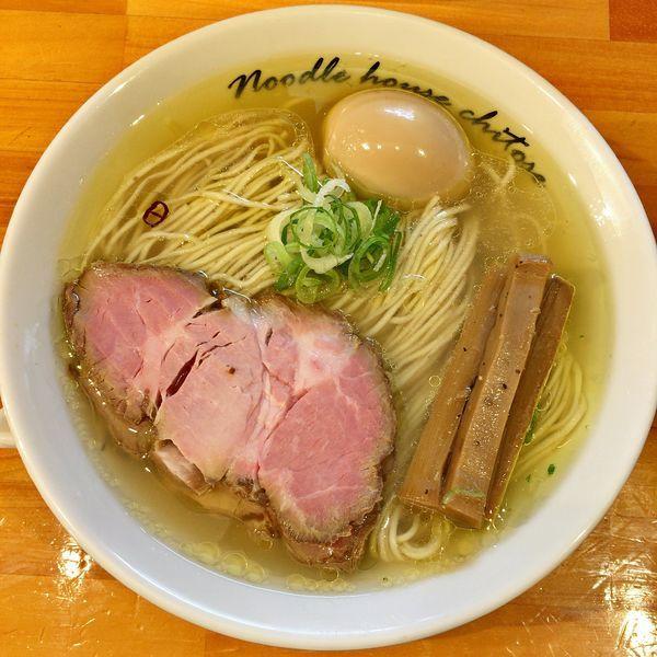 「塩 煮玉子(中盛)¥950」@麺庵ちとせの写真