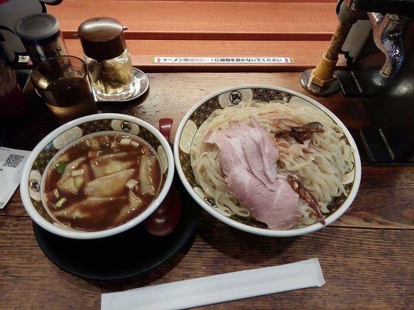「煮干しつけ麺   麺500g いったん麺6本」@ラーメン凪 大宮店の写真