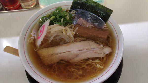 「支那そば」@麺肴ひづき あさのやの写真