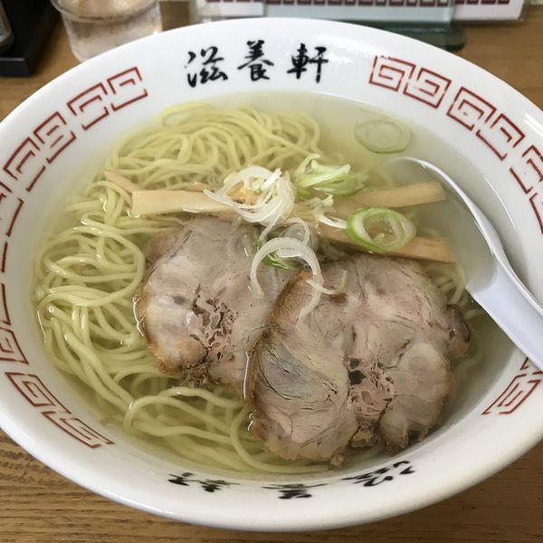 「函館塩ラーメン(¥500)」@滋養軒の写真