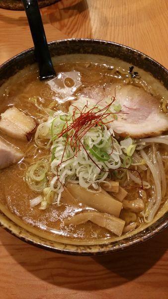 「味噌ラーメン」@麺屋つくしの写真