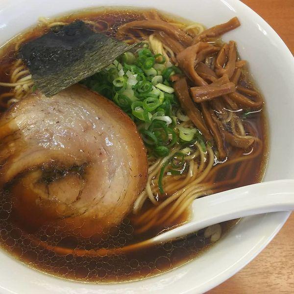 「中華そば 750円  スープ鶏100%」@中華そば ななまるの写真