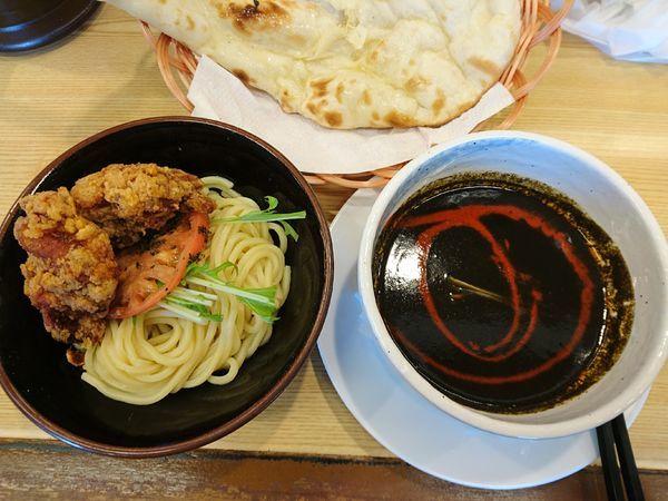 「カレーつけ麺(黒クミンスパイシー)」@バタチキ 前橋うつぼい店の写真