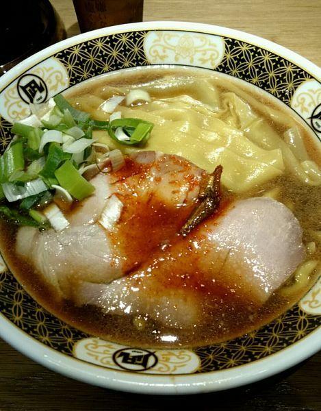 「すごい煮干しラーメン」@ラーメン凪 川口東口駅前店の写真
