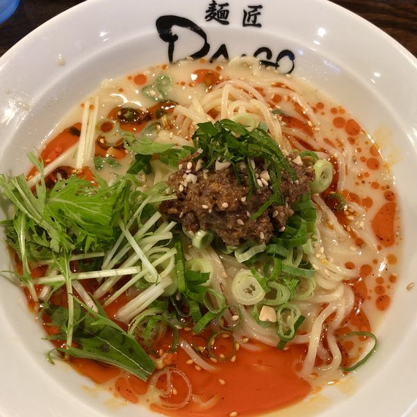 「【夏季限定】冷やし担々麺」@麺匠 大悟 DAIGOの写真