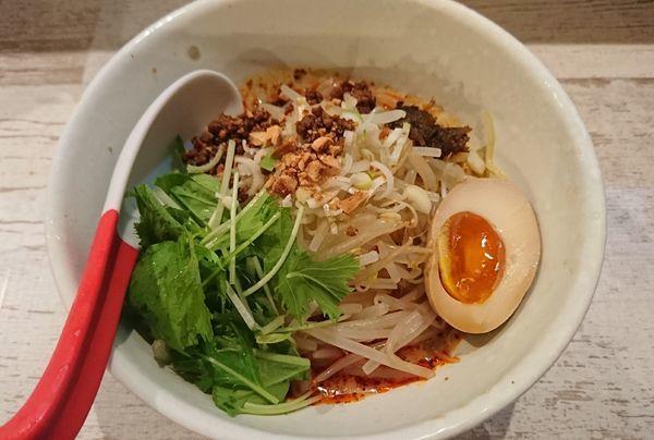 「冷やし担々麺(850円)」@麺屋 誉の写真