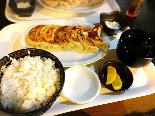「餃子定食¥500」@餃子屋 一栄の写真
