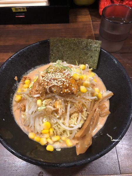 「冷やし坦々まぜそば」@四十三代目 哲麺 入間宮寺店の写真