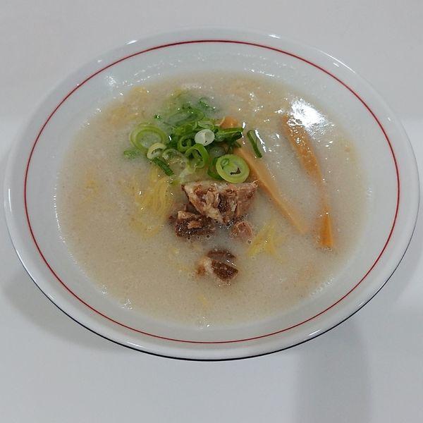 「かまくら塩ラーメン  @500円」@北のとんこつ 麺 かまくらの写真