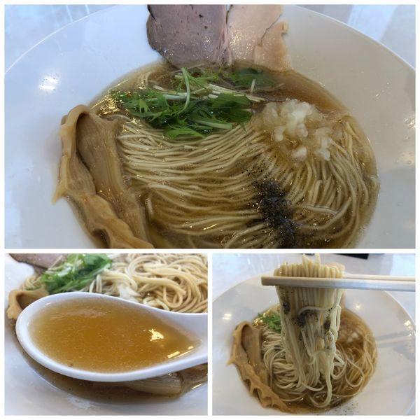 「煮干しそば 750円」@noodle kitchen KYOの写真