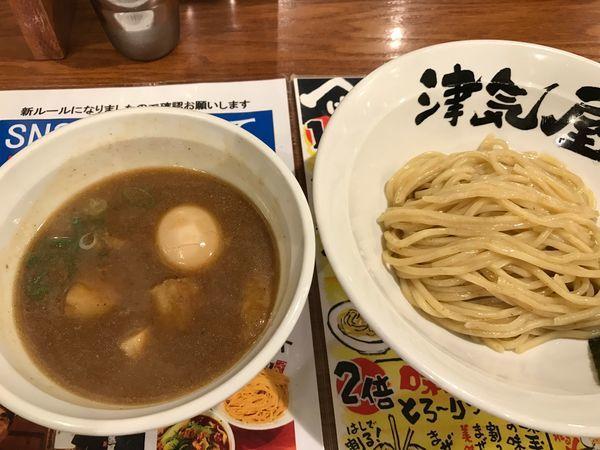 「極つけ麺 小盛」@つけ麺津気屋 武蔵浦和の写真