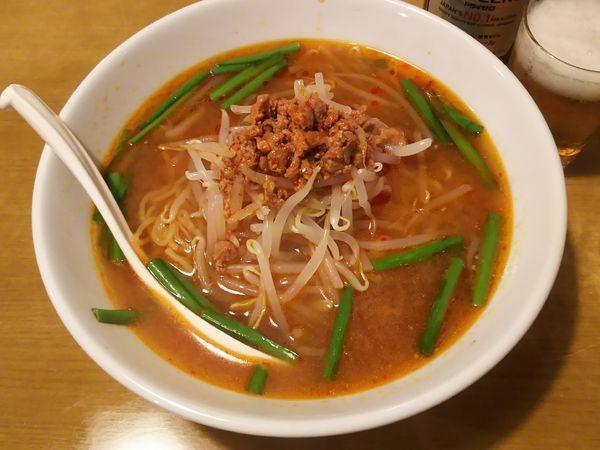 「台湾味噌ラーメン」@台湾料理 四季紅 常総店の写真