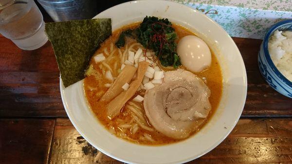 「味玉龍神らーめん(ねりごま)」@麺屋 龍神の写真