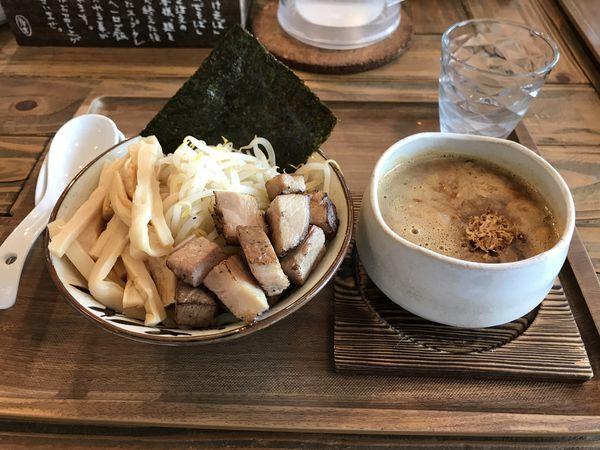 「濃厚甘海老味噌つけそば」@Omotenashi Noodles よこじの写真