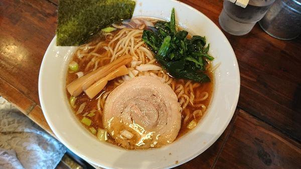 「らーめん(醤油)680」@麺屋 龍神の写真