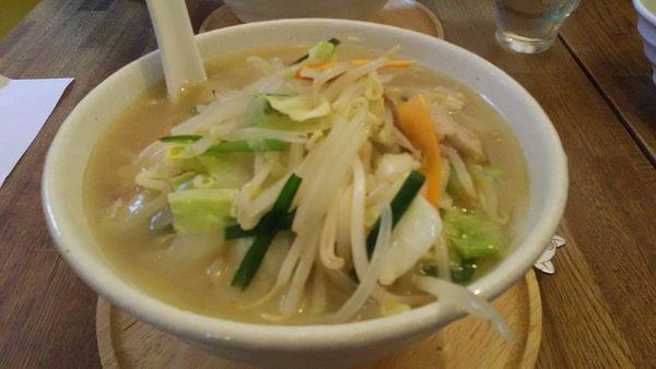 「たっぷり野菜たんめん」@らーめんshigetomiの写真