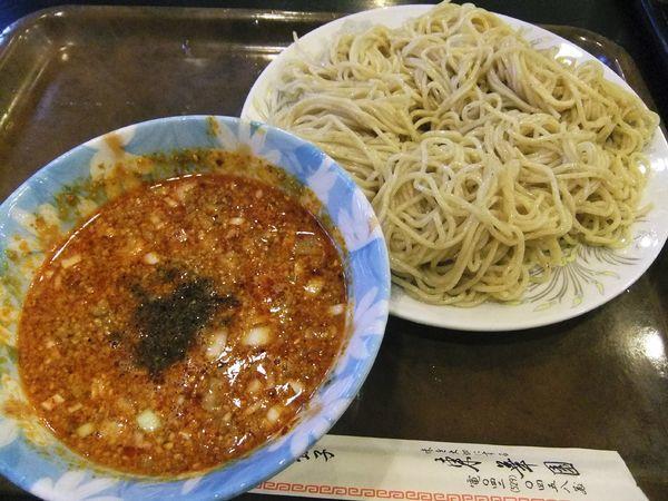 「つけ担々麺(700円)」@東華園の写真