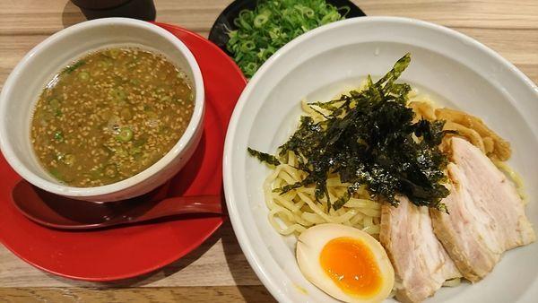 「つけめん+ネギ(880円)」@麺屋 やまとの写真
