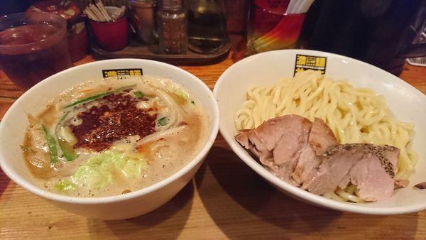 「辛辛濃菜つけ麺 ¥920」@濃菜麺 井の庄の写真