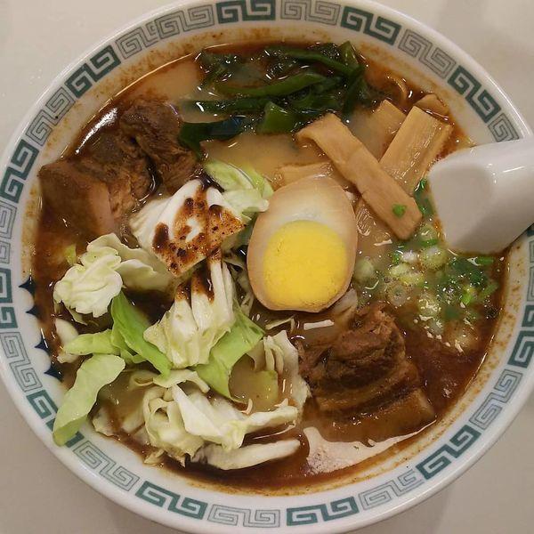 「太肉麺  980円」@桂花ラーメン 渋谷センター街店の写真