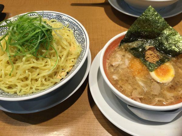 「肉そばつけ麺950円」@丸源ラーメン 川口芝店の写真