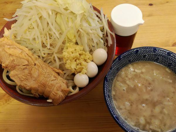 「【限定】塩つけ麺(大盛)」@ハイパーファットンの写真