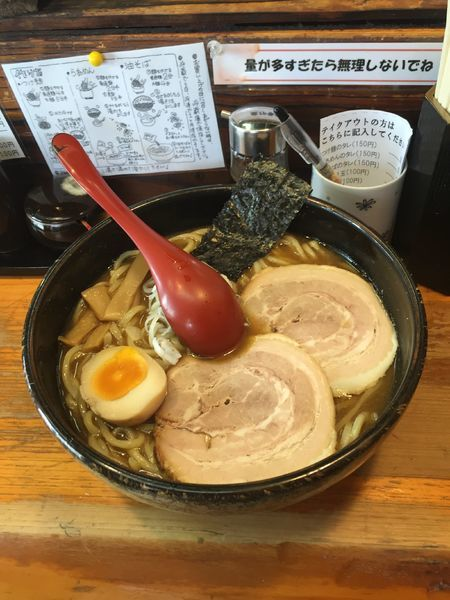「ラーメン(醤油)」@竹屋 新秋津店の写真