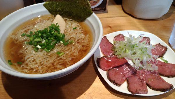 「ちゃー牛麺大盛」@らーめん 大木の写真