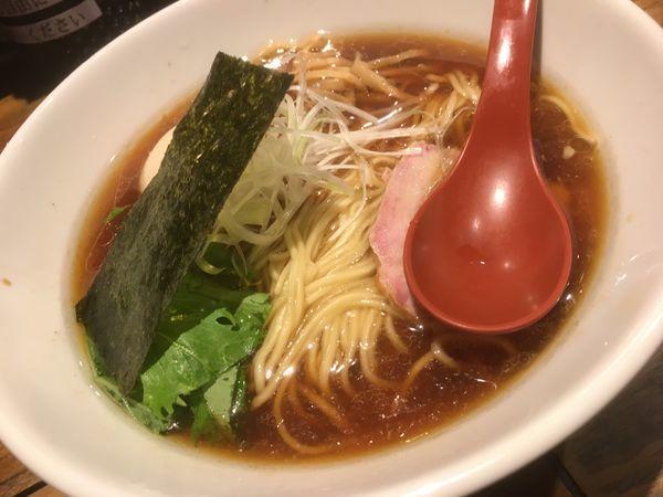「香彩鶏だし味玉醤油らーめん」@麺屋 翔 本店の写真