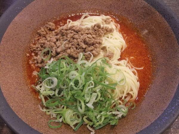 「広島式汁なし担々麺(600円)(辛さ:3、痺れ:3)」@tomoruの写真