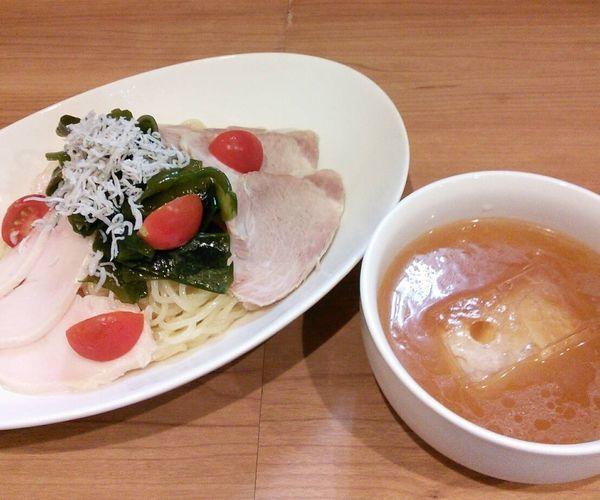 「【限定】冷製つけ麺 900円」@MEN-YA DAISUKEの写真