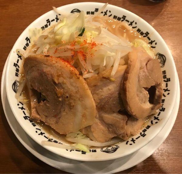 「豚骨豚野郎ラーメン ¥1,080」@野郎ラーメン 海浜幕張店の写真