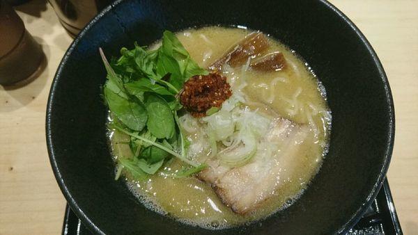 「らぁめん~白醤油~_750円」@麺屋 いし川の写真
