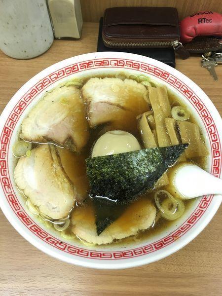 「味玉チャーシュー麺」@中華そば・つけめん 甲斐 高円寺店の写真
