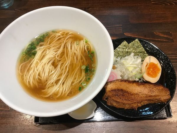「カムイ・シオユ (醤油)」@麺や 蒼 AOIの写真
