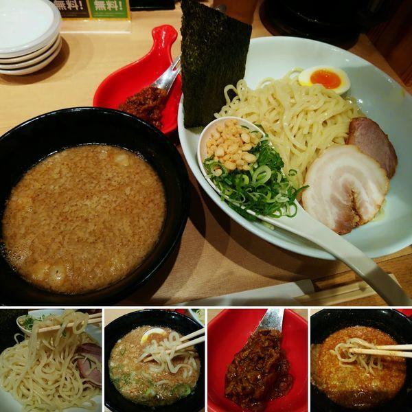 「一風堂太つけ麺(大盛)+カレー玉=1070円」@博多一風堂 浅草ROX・3G店の写真