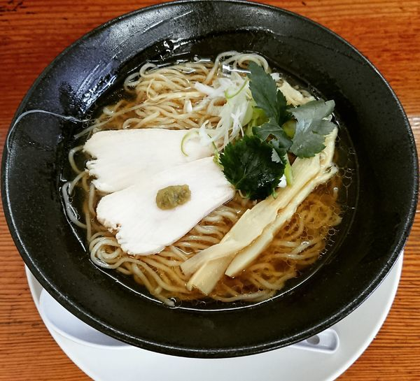 「【限定】煮干しの冷たい中華そば 790円」@中華そば 極宇の写真