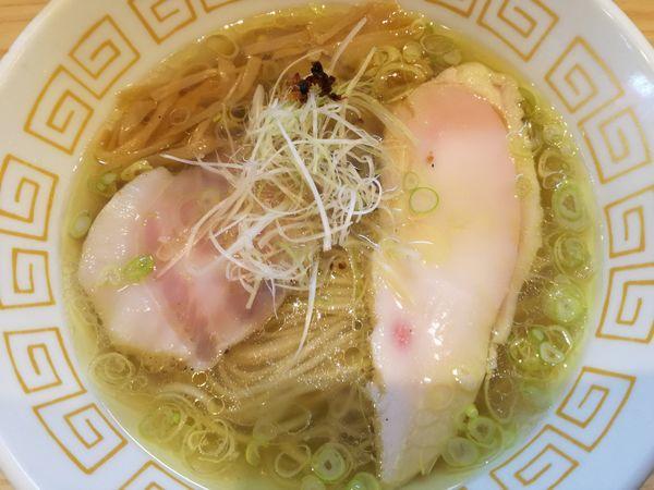 「塩らぁ麺」@中村麺三郎商店の写真