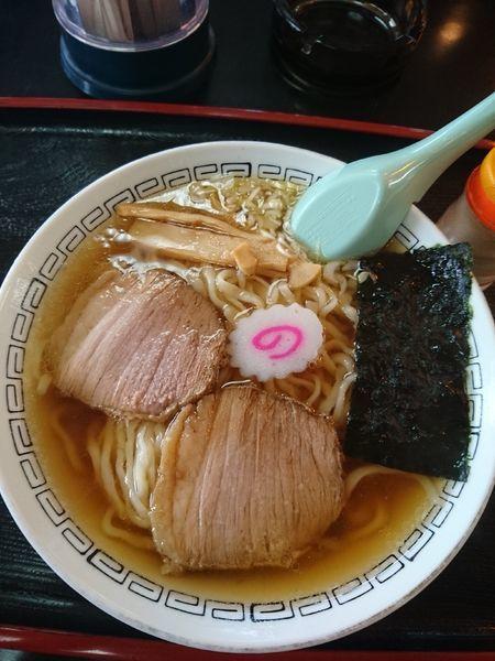 「ラーメン 450円」@栗屋食堂の写真