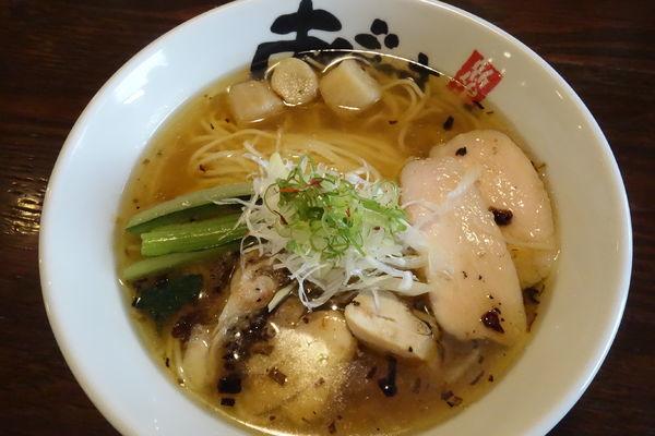 「【裏】爽辛麺」@麺屋 あごすけの写真