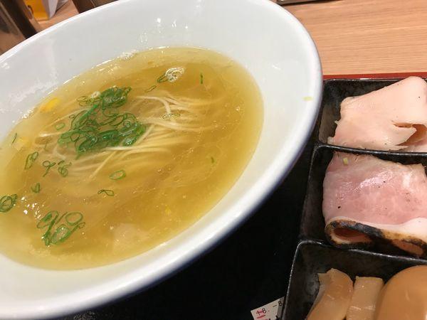 「特製鶏そば 塩 1,130円」@松戸富田製麺 ららぽーとTOKYO-BAY店の写真
