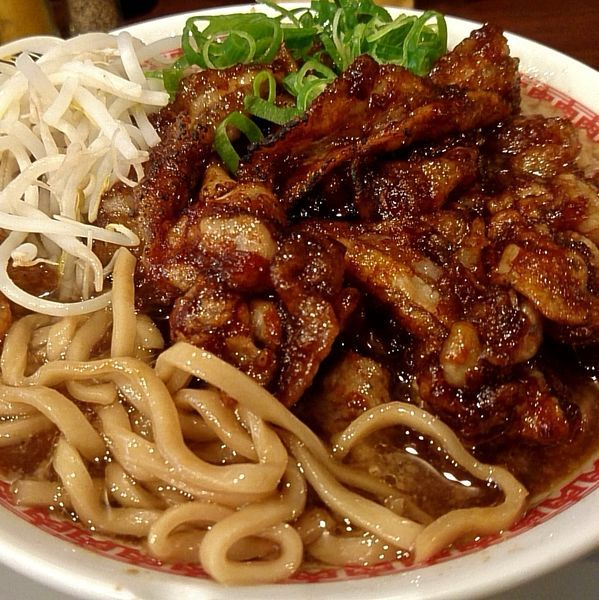 「肉汁麺レベル3(肉270g)980円」@肉汁麺 ススム 高田馬場店の写真