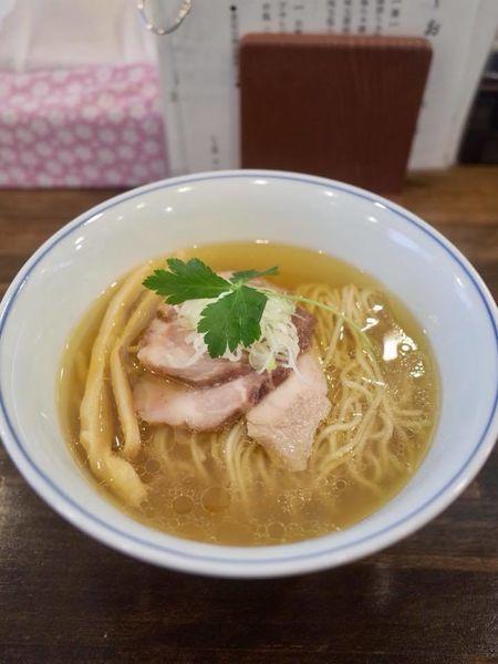 「塩らぁ麺…750円」@らぁ麺  麦一粒の写真