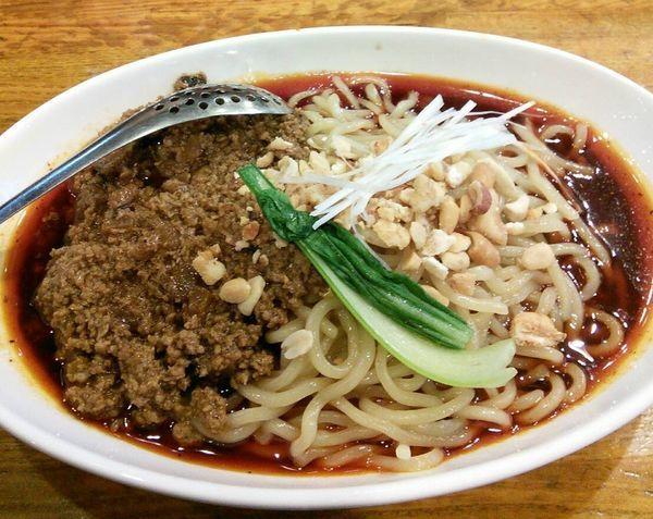 「成都式汁なし担々麺 900円」@Dandan spicy noodlesの写真