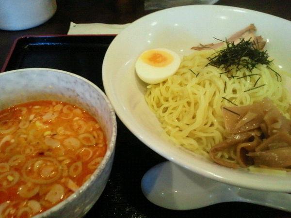 「つけ麺(ピリ辛白湯)928円」@中華さくらの写真