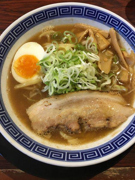 「魚介豚骨ラーメン 小」@らーめん伏竜 本店の写真