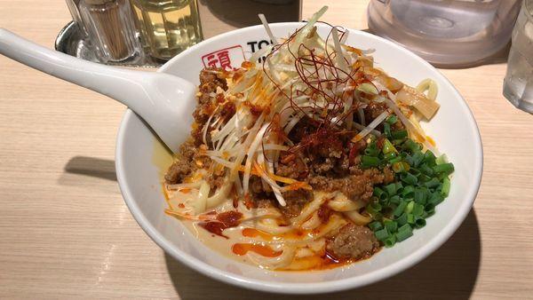 「坦坦和え麺¥830+中盛無料300g」@TOKYO UNDER GROUND RAMEN 頑者の写真