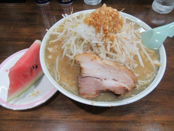 「豚太麺(750円)」@豚男爵の写真