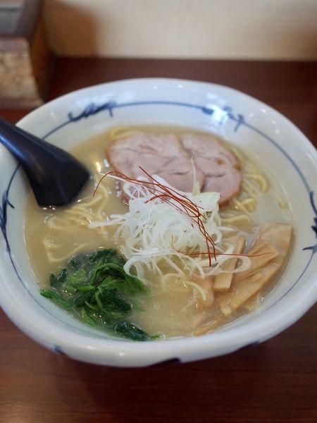 「地鶏白湯ラーメン…850円」@そうげんラーメンの写真