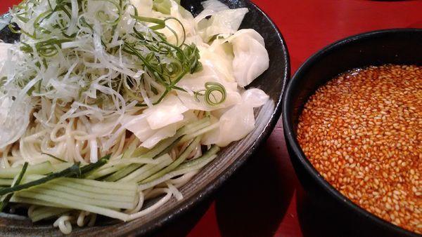 「廣島つけ麺 3辛」@廣島つけ麺本舗 ばくだん屋 本店の写真